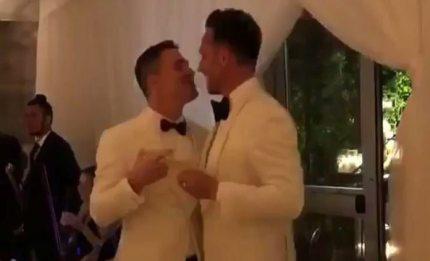 Colton Haynes and Jeff Leatham wedding
