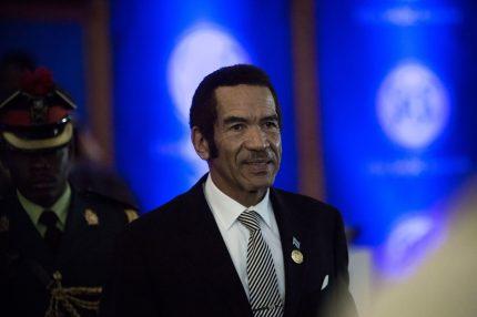 Botswana's President Ian Khama (Getty)