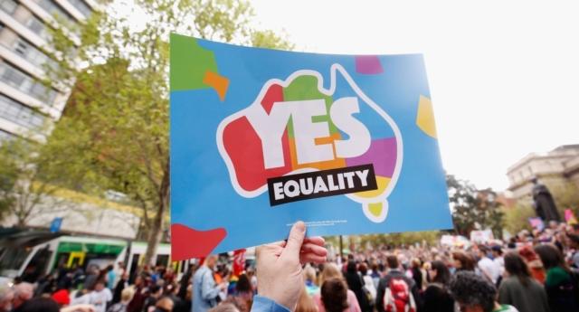 Australia same-sex marriage (Getty)