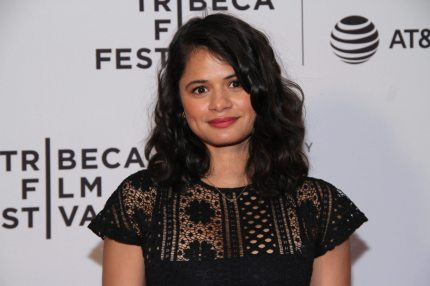 """NEW YORK, NY - APRIL 23: Actress Melonie Diaz attends Tribeca TV: Pilot Season """"Lost and Found"""" showing during the 2017 Tribeca Film Festival at Cinepolis Chelsea on April 23, 2017 in New York City. (Photo by Donna Ward/Getty Images for Tribeca Film Festival)"""