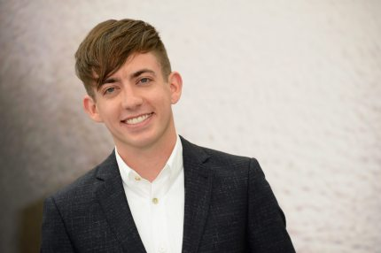 Kevin McHale who came out as gay in 2018