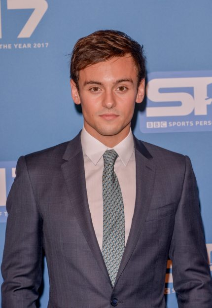 LIVERPOOL, ENGLAND - DECEMBER 17: Tom Daley attends BBC's Sports Personality Of The Year held at Liverpool Echo Arena on December 17, 2017 in Liverpool, England. (Photo by Richard Stonehouse/Getty Images)