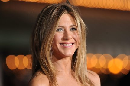 WESTWOOD, CA - FEBRUARY 16:  Actress Jennifer Aniston arrives at the premiere of Universal Pictures' 'Wanderlust' held at Mann Village Theatre on February 16, 2012 in Westwood, California.  (Photo by Jason Merritt/Getty Images)