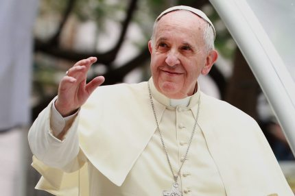 """The news comes days after Pope Francis told a gay man that """"God made you like this"""" (Lisa Maree Williams/Getty Images)"""
