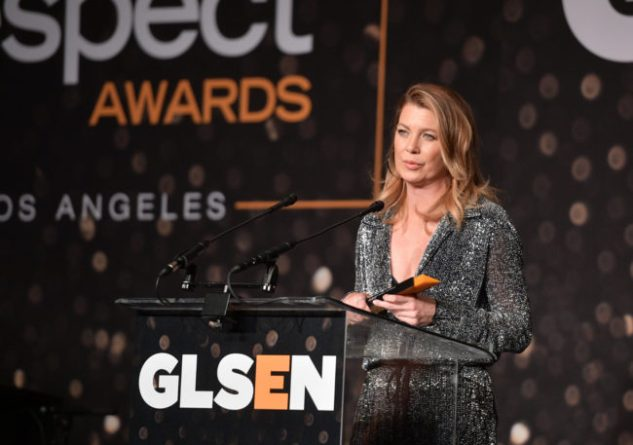 BEVERLY HILLS, CALIFORNIA - 19 DE OCTUBRE: Ellen Pompeo asiste a los premios GLSEN Respect Awards en el Beverly Wilshire Four Seasons Hotel el 19 de octubre de 2018 en Beverly Hills, California. (Foto por Matt Winkelmeyer / Getty Images para GLSEN)
