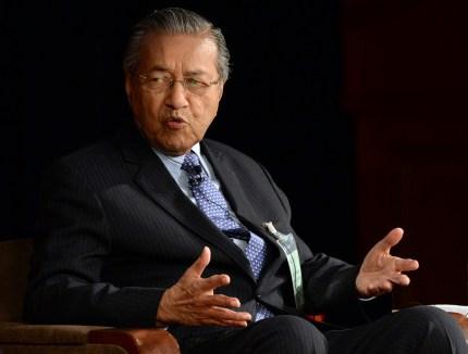 Malaysian Prime Minister Mahathir bin Mohamad