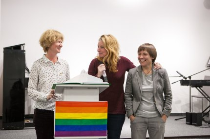 The opening of the 2017 conference where LGBT+ activists were targeted for the second year in a row.