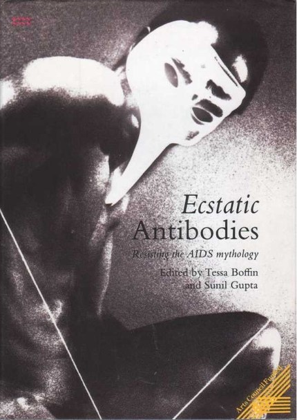 """Sunil Gupta's """"Ecstatic Antibodies"""" book with Tessa Boffin. Gupta told PinkNews his story for World AIDS Day"""