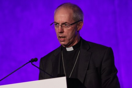 Archbishop of Canterbury Justin Welby speaks at a National Holocaust Memorial Day event in 2017