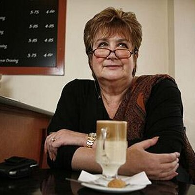 """Photo of BBC Woman's Hour host Jenni Murray who pulled out of an Oxford University talk after students accused her of being """"transphobic."""""""