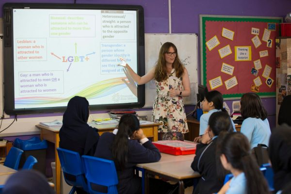 Lgbt Issues 'integral' Kids' Education