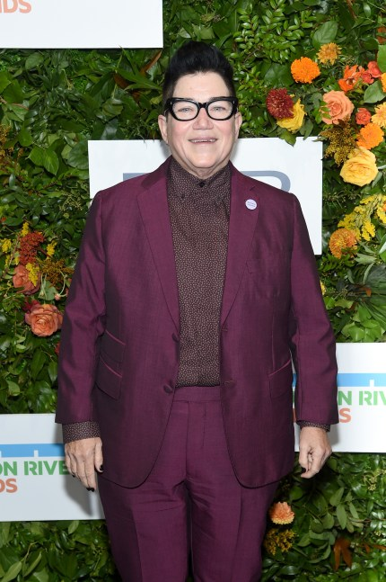 Lea DeLaria, who made a jazz tribute album to David Bowie.