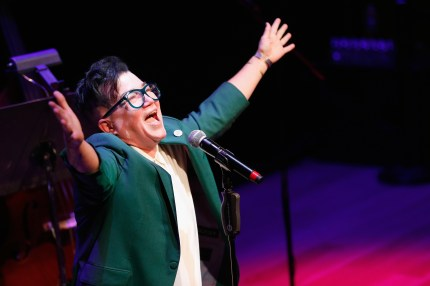 Lea DeLaria, who is an established jazz musician.