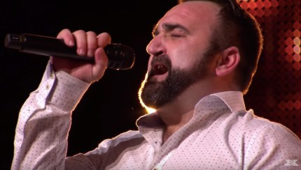 "Gay X Factor star Danny Tetley sang ""And I Am Telling You I'm Not Going"" on his audition."