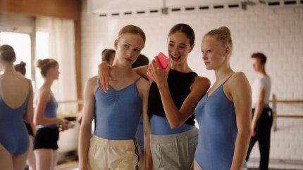 A screenshot from the film Girl by Belgian filmmaker Lukas Dhont.