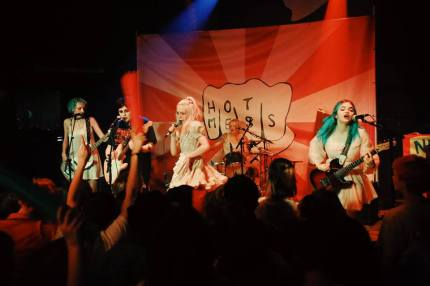 Queer punk band PUSSYLIQUOR on tour