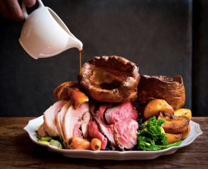 Picture of a Sunday roast.