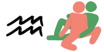 Best sex position for zodiac sign: AQUARIUS masturbation