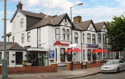 The Euro Wembley Hotel where a man allegedly threatened to murder a gay couple