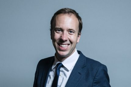 """Matt Hancock, who has pledged to ensure there is a """"specific focus"""" on LGBT mental health as the UK marks Time to Talk Day"""