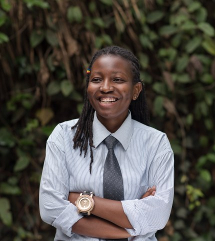 Mercy, who is a communications officer for NGLHRC in Kenya