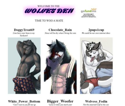 The Wolves of Odin site is now gay furry erotica