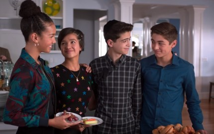Andi Mack character Cyrus Goodman is joined by friends in an episode on February 8 2019