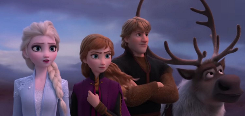Elsa et Anna lesbiennes sexe
