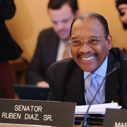 Former New York state senator Rubén Díaz in a Facebook photo