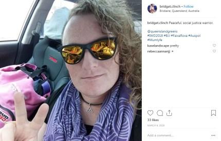 Trangender soldier Bridget Clinch