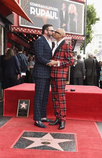 RuPaul receives homophobic abuse after wedding partner of