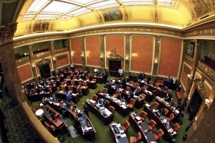 Lawmakers in the Utah House of Representatives