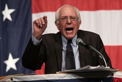 Bernie Sanders displays transgender flag outside office