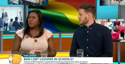 Izzy Montague appeared on Good Morning Britain