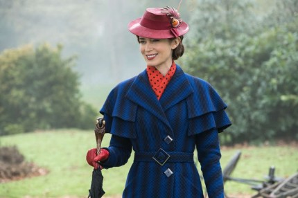 Mary Poppins 3? Emily Blunt as Mary Poppins in Mary Poppins Returns
