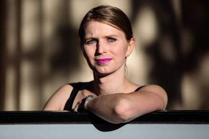 Chelsea Manning smiling