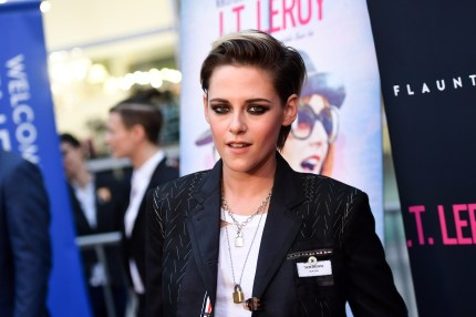 Kristen Stewart attends the LA premiere of Universal Pictures' 'J.T. Leroy' at ArcLight Hollywood on April 24, 2019 in Hollywood, California