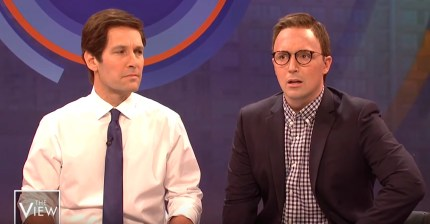 Paul Rudd and Beck Bennett play Pete and Chasten Buttigieg on SNL