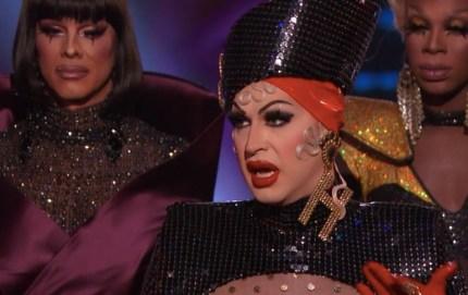 Drag Race season 11 queens at the reunion.