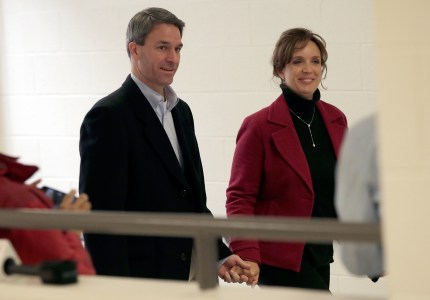 Ken Cuccinelli and his wife Teiro.