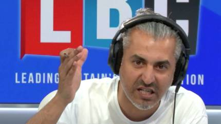 Maajid Nazaw responded to comments from the caller. (LBC)