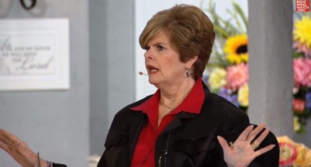 Christian prophet Cindy Jacobs on The Jim Bakker Show (Video: Right Wing Watch)