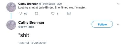 cathy brennan Julie Bindel