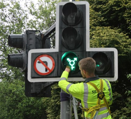 Edinburgh traffic lights to feature LGBT symbols for Pride