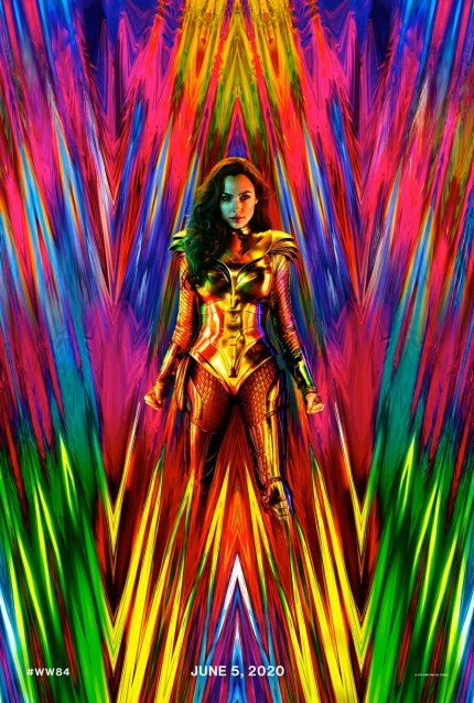 Wonder Woman ina . gold suit