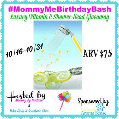 Luxury Vitamin C Shower Head Giveaway {US   Ends 10/31}