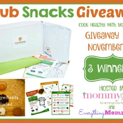Cub Snacks Monthly Subscription Box Giveaway {3 WINNERS | US | Ends 11/01}