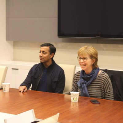 Sanjay's Super Team ~ Chatting with Sanjay Patel & Nicole Grindle #SanjaysSuperTeam #GoodDinoEvent