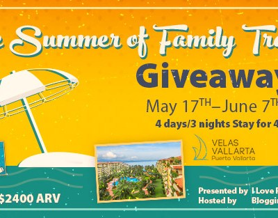 The Summer of Family Travel Giveaway {US | Ends 06/07}