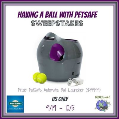 Having a Ball with PetSafe Sweepstakes {US | Ends 10/05}